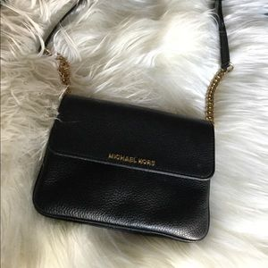 Michael Kors black crossbody bag